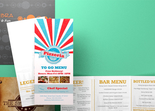 Custom Restaurant Menu
